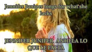 Jennifer Juniper - Donovan [Letra en ingles y español]
