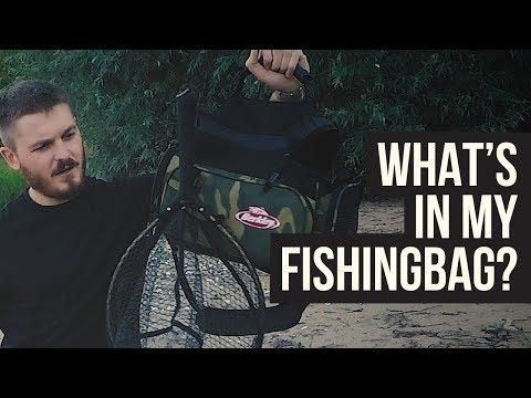 Was habe ich in meiner Angeltasche? // What's in my Fishingbag?