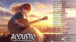 Top Acoustic Guitar Covers Of Popular Songs - Best Instrumental Music 2019