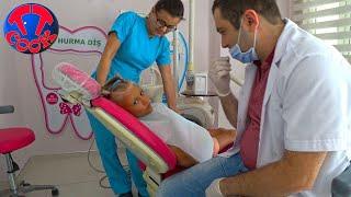 Влог Поход к Стоматологу в Турции у Ярославы выпал первый ЗУБ!