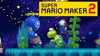 I've been sabotaged..   Mario Maker 2 Multiplayer Versus [#5]