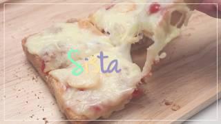 สอนทำขนม Pizza Toast พิซซ่าอร่อยๆ ชีสยืดๆ
