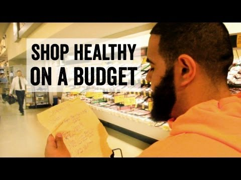 Video Healthy Grocery List: Shop Right on a Budget