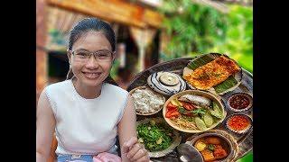 Vừa ăn vừa ngắm ruộng lúa ngay dưới chân toà nhà Bitexco Sài Gòn