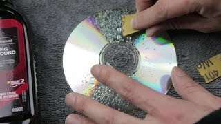 Fix A Scratched Disc For Cheap Not Using Toothpaste CD/DVD Only