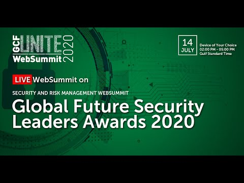 GlobalFuture SecurityLeaders Awards 2020