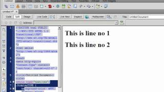 Dreamweaver cs5 tutorial:Css property DISPLAY ( none, block, inline and inline-block)