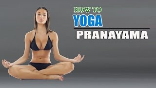 How To Do Yoga Pranayama Breathing Exercises For Weight Loss - Download this Video in MP3, M4A, WEBM, MP4, 3GP