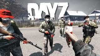 Infiltrating a group of Cannibals... - DayZ 0.63
