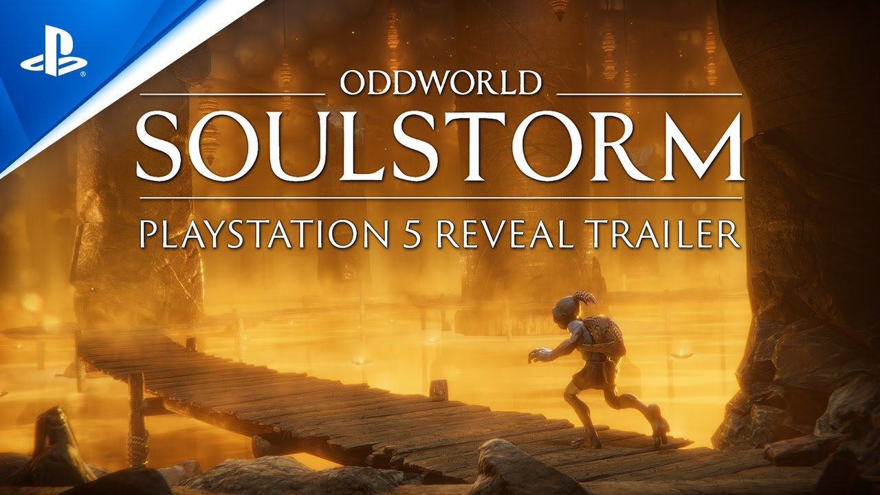 Oddworld: Soulstorm is coming to PlayStation 5