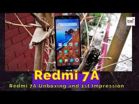 Redmi 7A Unboxing and 1st look