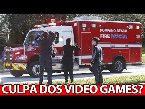 Governador dos EUA culpa VIDEO GAMES por massacre em escola