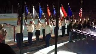 Stockton Heat Color Guard