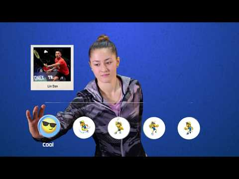 Gronya Somerville - Emoji Players At BCA Indonesia Open 2017