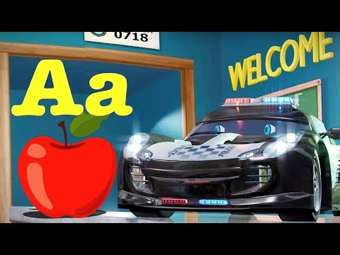 Phonics Songs For Kids |  Speedies Car Cartoons by Kids Channel