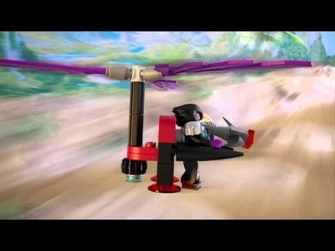 Vidéo LEGO Chima 70007 : Le roadster d'Eglor