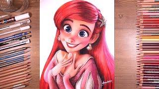 Drawing Princess Ariel - The Little Mermaid | drawholic