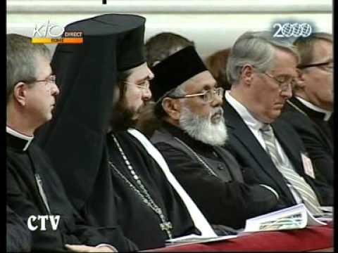 Messe en hommage à Pie XII
