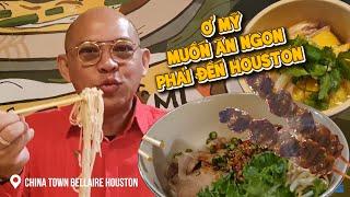 Food For Good #602:Đồng hương Color Man mở tiệm Mì Gõ siêu ngon đẹp giữa China Town Bellaire Houston