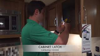 Coachmen Catalina Insider: Cabinet Latch