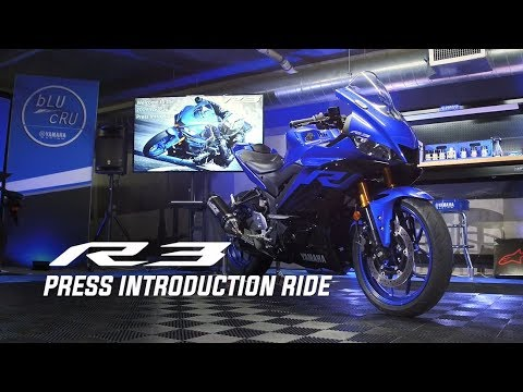 2021 Yamaha YZF-R3 ABS in Mio, Michigan - Video 4