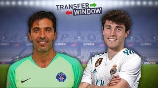 TRANSFER WINDOW - BUFFON, ODRIOZOLA, MERET & MORE!