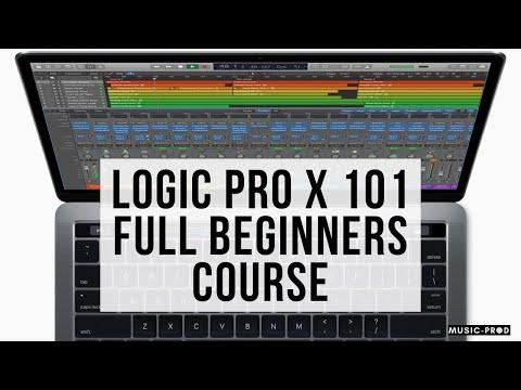 Logic Pro X Tutorial 2020 - Full Logic Pro X Course Free