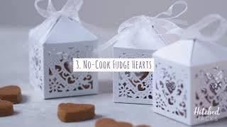 Hitched Hacks: 3 DIY Food Wedding Favour Ideas