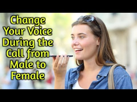 Change your Voice from Male to Female during the Call from Magic Call