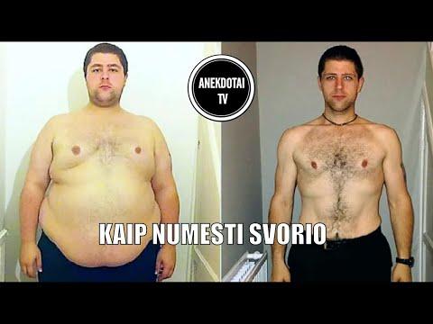 Numesti svorio, jei nutukę