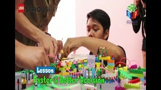 More effective meetings using LEGO® SERIOUS PLAY® materials and methodology