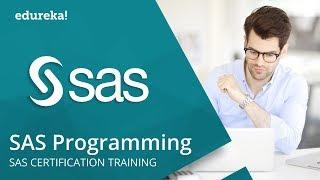 SAS Programming For Beginners | SAS Programming Tutorial | SAS Tutorial | SAS Training | Edureka