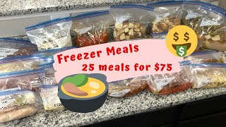 Prepping 25 Freezer Meals Before Baby  | TheTerrasAdventures