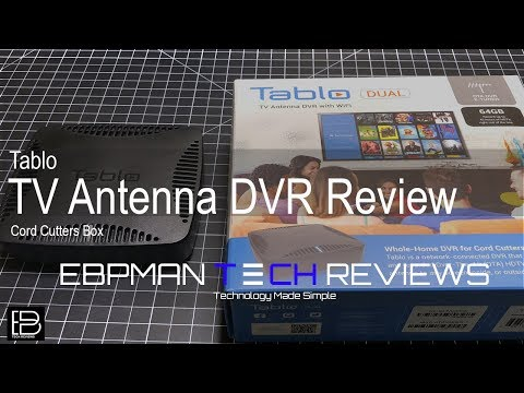 Tablo TV Antenna DVR Dual Tuner with 64 GB Storage for Cord Cutters