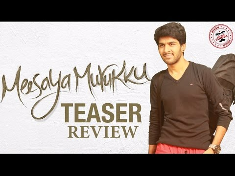 Meesaya Murukku Teaser Review By Review Raja
