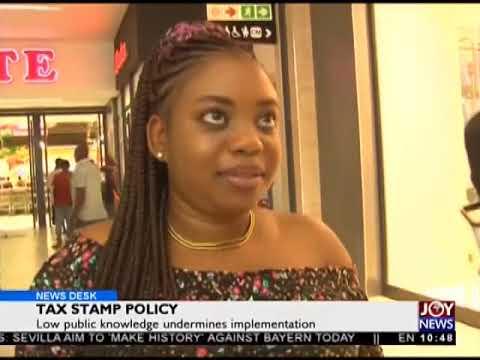 Tax Stamp Policy - News Desk on Joy News (3-4-18)