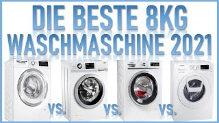 DIE 4 BESTEN WASCHMASCHINEN 2021 im Vergleich | Bosch, Haier, Siemens, Samsung | Waschmaschinentest