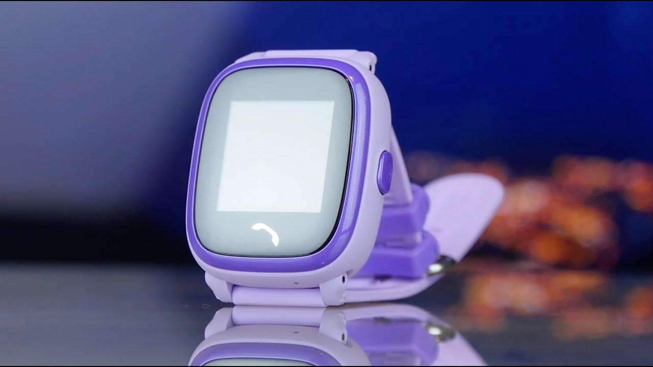 Смарт-часы GOGPS K25 (Blue) К25СН video preview