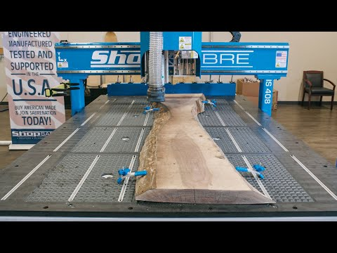 ShopSabre – Slab Flattening Project with IS Series 408 Routervideo thumb