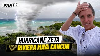 Hurricane Zeta report from Riviera Maya Cancun The Kub Family
