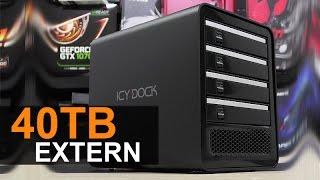 Bis zu 40TB externer Speicher - ICY DOCK ICYCube MB561U3S-4SB R1 Testbericht [DEUTSCH]