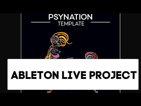 Psytrance - Psynation Ableton Live Template, Project als (Progressive)