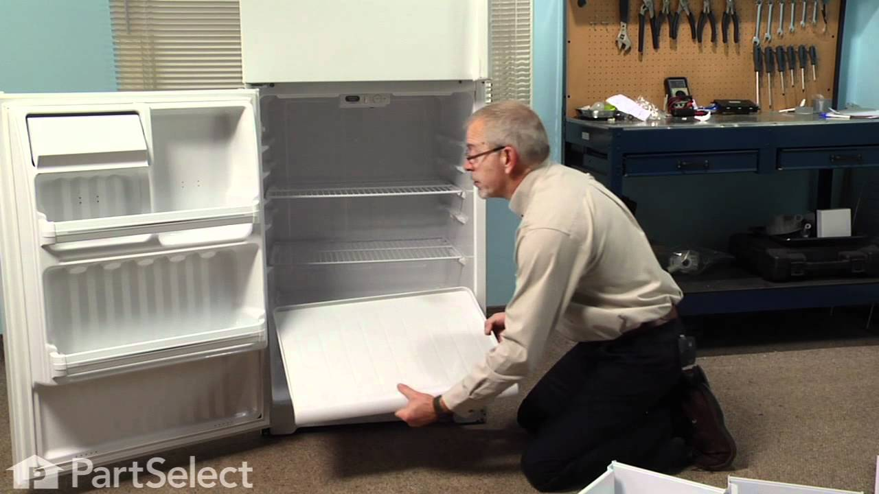 Replacing your General Electric Refrigerator Crisper Drawer Cover