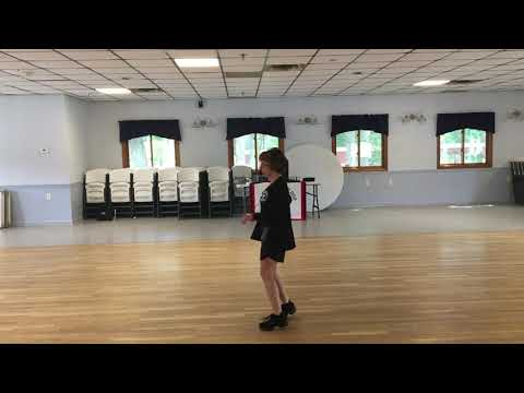 Crackin Cold Ones Line Dance - Demo With Steps Called - Gail Eaton