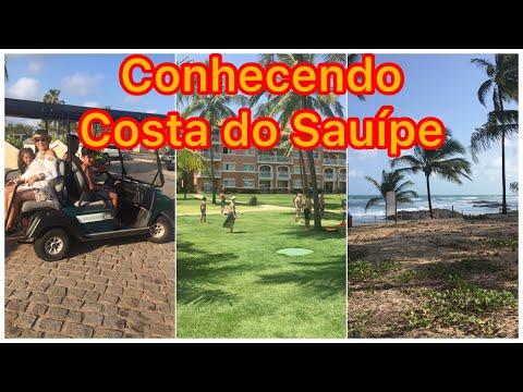 CONHECENDO COSTA SAUIPE/BA. Vlog Mostrando tudo dentro do Complexo Costa do Saupe.