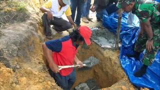 Peletakan batu pertama pembangunan Sekretariat dan Pendopo FKKJ .wmv