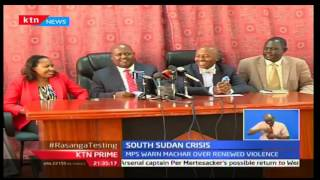 KTN Prime: Parliamentary Joint Committee warns warlords of seeking asylum in Kenya, 12/10/16