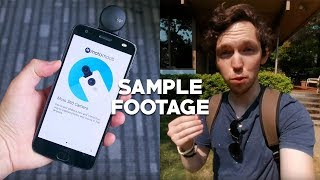 Moto 360 Camera Mod Sample Footage In 4K!