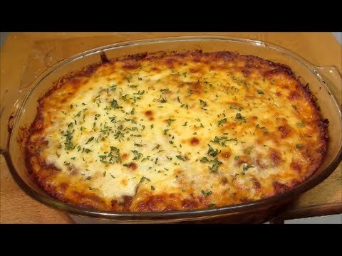 Beef and Noodle Casserole – Italian Pasta Bake – Recipe