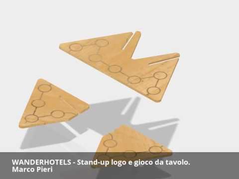 Concorso WANDERHOTELS - Stand-up logo e gioco da tavolo